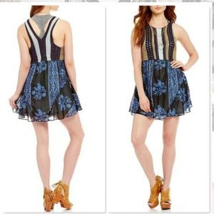 NWT FREE PEOPLE Katie's Mini Dress